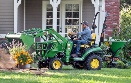 John Deere Tractor Lift Problems : John deere r reviews tractors review